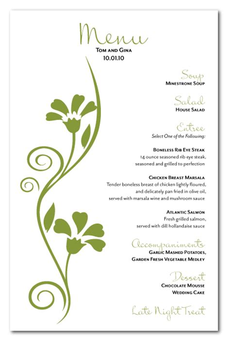 Design Menu Card Online | hotel menu card designs free download