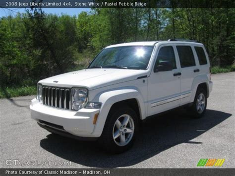 2008 Jeep Liberty Limited 4x4 White 2008 Jeep Liberty Limited 4x4 Pastel