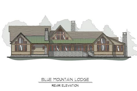 mountain floor blue mountain timber frame floor plan by mill creek