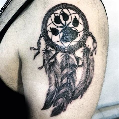 dreamcatcher tattoo designs for men 100 dreamcatcher tattoos for design ideas