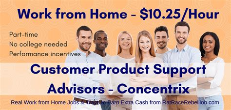 work from home customer product support advisor