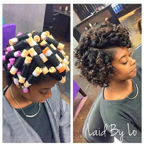 cool hairstyles from rollers for black women best 25 roller set ideas on pinterest roller set hair