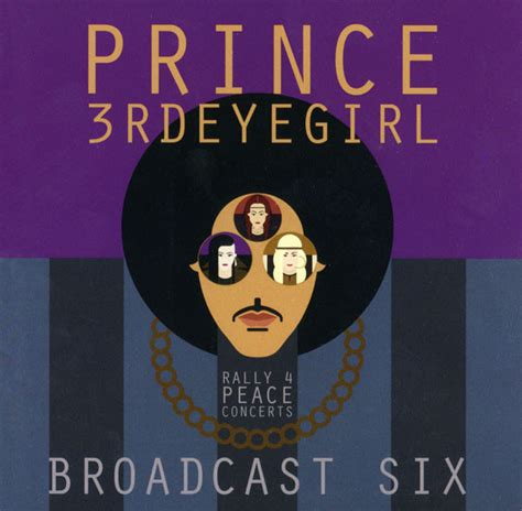 Cd Import Prince Chaos And Disorder Pop Rock Collection prince 3rdeyegirl broadcast six rally 4 peace concerts