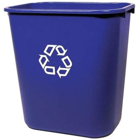 rubbermaid commercial products 7 gal deskside recycling