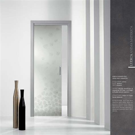 vetro per porte interne porte scorrevoli in vetro esterno muro o a scomparsa