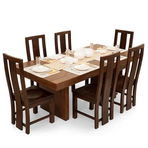 six chair dining table set 20 inspirations 6 seat dining table sets dining room ideas