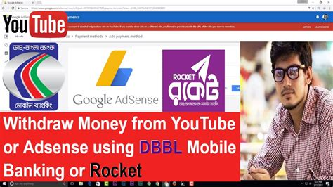adsense withdraw how to withdraw money from youtube or adsense using dbbl