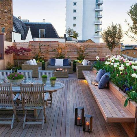 Idee Terrasse Jardin by Am 233 Nager Une Terrasse Plus De 50 Id 233 E Pour Vous