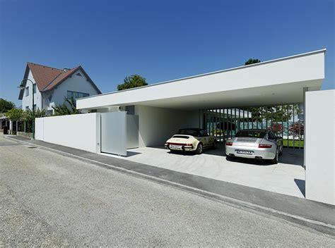 house car parking design summerhouse transformed into a modern residence house a b in austria modern