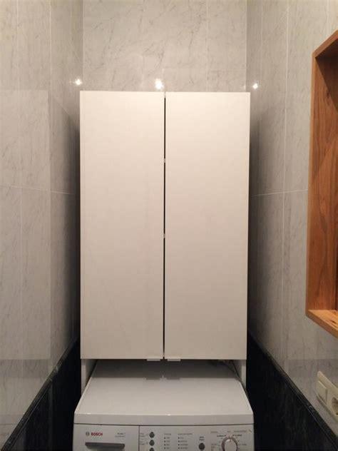 armario lavadora armario para hueco lavadora ikea en blanco 88534979