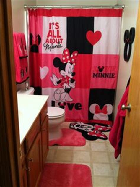 Minnie Mouse Bathroom Minnie Mouse Bathroom On Pinterest Ears Mirror And