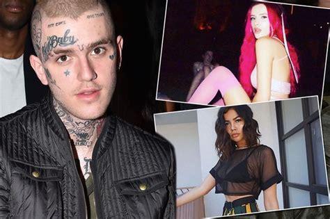 lil pump zendaya lil peep s ex girlfriends share their grief at bisexual