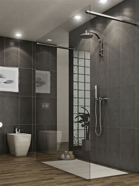 estilo bathroom 35 black slate bathroom wall tiles ideas and pictures