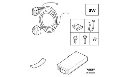 volvo v70 towbar wiring diagram 31 wiring diagram images
