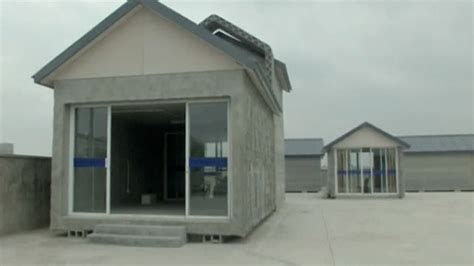 3d printed houses 3d printer builds houses in china video technology