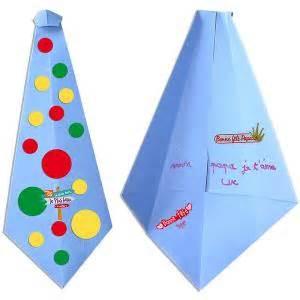Fete Des Peres Tete A Modeler pliage carte cravate origami f 234 te des p 232 res f 234 te des