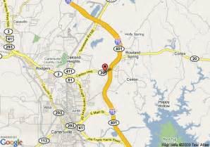 map of cartersville days inn cartersville