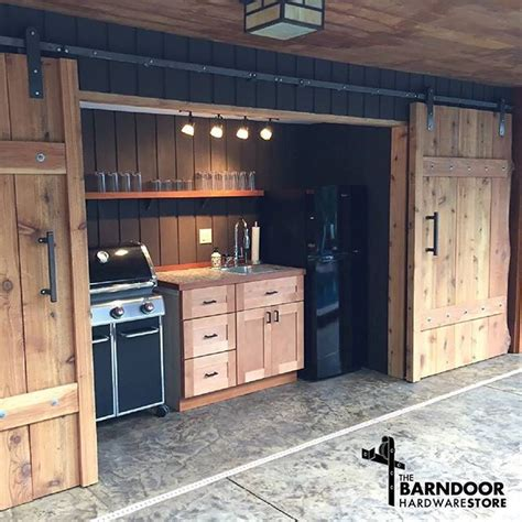 Barn Door In Kitchen 17 Best Ideas About Exterior Barn Doors On Corrugated Sheets Sheet Metal Decor And