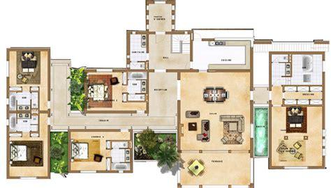 Minecraft Modern House Floor Plans by Construire Une Villa 224 Marrakech