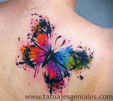 80 originales tatuajes de mariposas y su significado