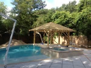 Backyard Cabana by Backyard Transformation With Pool Cabana Outdoor Shower