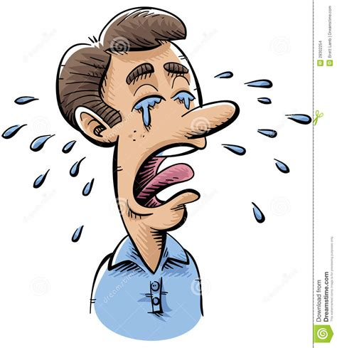 imagenes de trollface llorando homme pleurant illustration stock image du triste homme