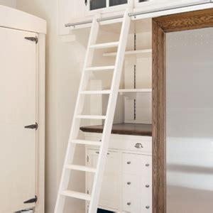 Rolling Closet Ladders by The Glide Library Ladder Official Of