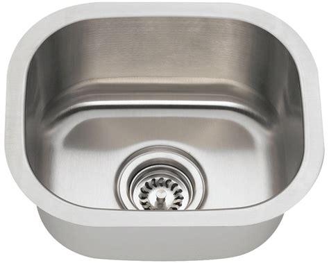 10 Undermount Bar Sink by 1512 Stainless Steel Bar Sink