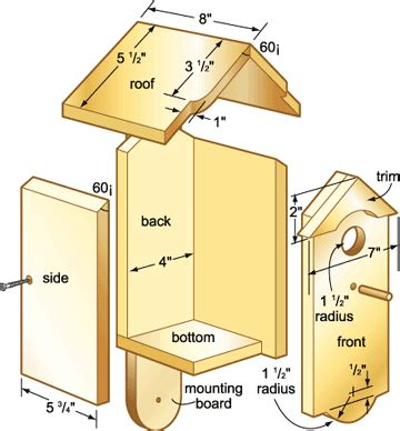 bird houses bird house plans  woodworking projects