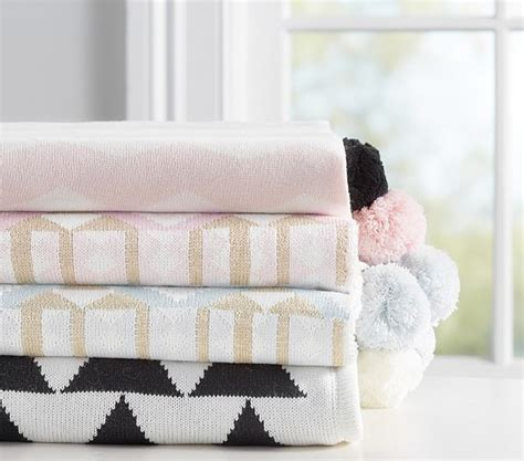 sweet baby blankets to knit 29 blankets to knit books the emily meritt knit baby blanket pottery barn