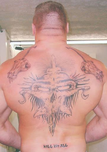 brock lesnar tattoo best tattoo ideas gallery