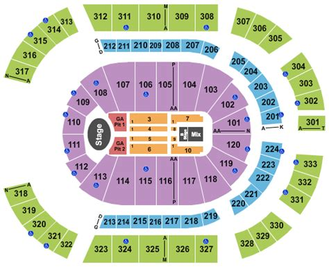 detailed seating chart bridgestone arena nashville tn harry styles bridgestone arena nashville tickets