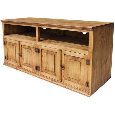 American Made Kitchen Cabinets by Rustic Pine Collection Santana Tv Stand Com99