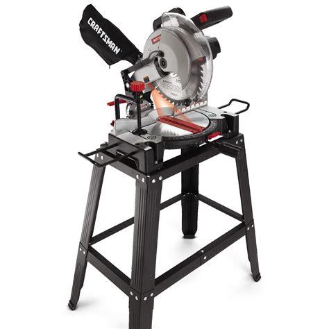 miter saw bench craftsman 10 quot compound miter saw with stand miter saws