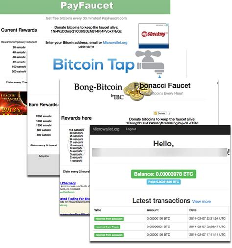 Automatic Bitcoin Faucet by Get Free Bitcoins With 50 Website Faucets That Really Pay