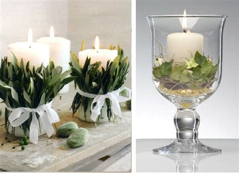 come decorare le candele il di dress my table arreda il tuo tavolo con i