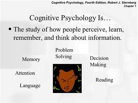 cognitive psychology chapter1 introduction to cognitive psychology