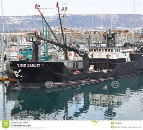 homer alaska commercial fishing boats time bandit in homer alaska editorial stock image image