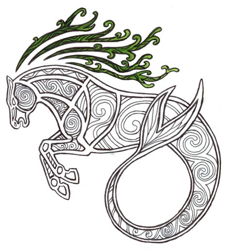 celtic kelpie by kakaro on deviantart