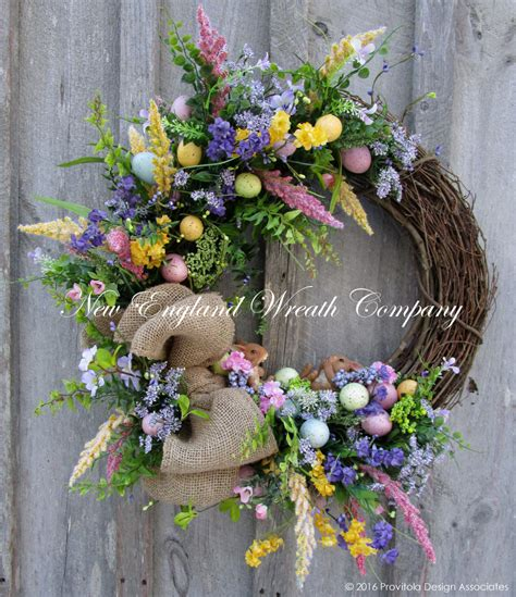 spring wreaths to make easter wreath easter bunny wreath spring wreath spring