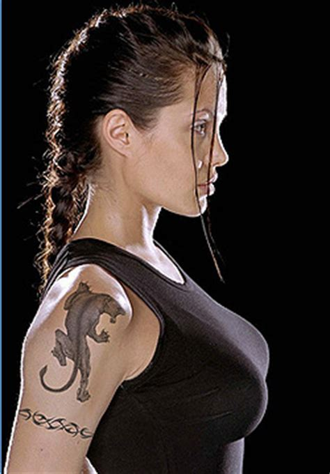 angelina jolie tattoo temple t town ink