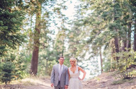 rustic chic lake arrowhead wedding kyle
