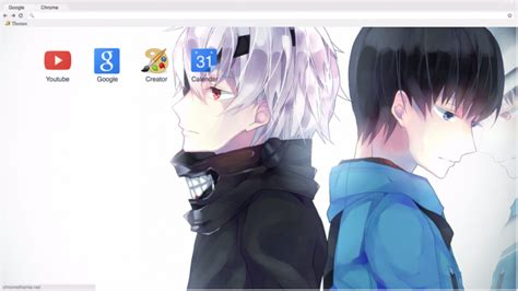 google theme kaneki kaneki chrome theme themebeta