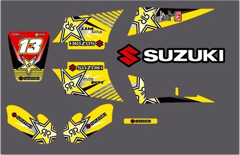Suzuki Lt80 Decals Suzuki Bike Graphics West Midlands Wolverhton