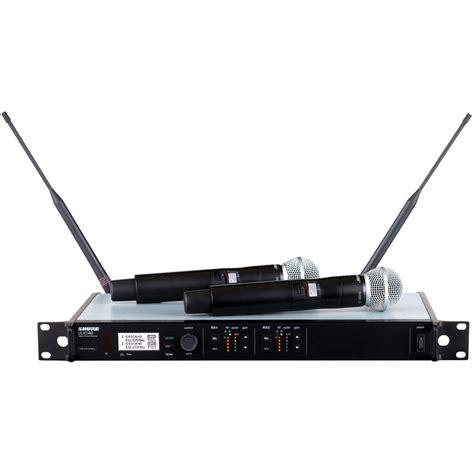 Mic Wireles Shure Gldx 24 Digital shure ulxd24d sm58 dual channel handheld ulxd24d sm58 g50 b h
