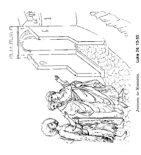 coloring page of jesus on the road to emmaus free coloring pages of jesus on the road to emmaus
