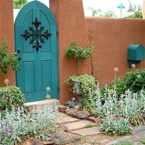 love a mustard colored front door houston foodlovers 101 best images about garden gates new mexico style on