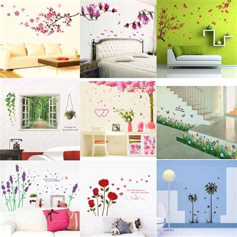 room stickers vinyl home room decor quote wall decal stickers bedroom removable mural diy ebay