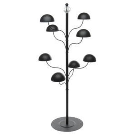 black countertop hat display rack industrial