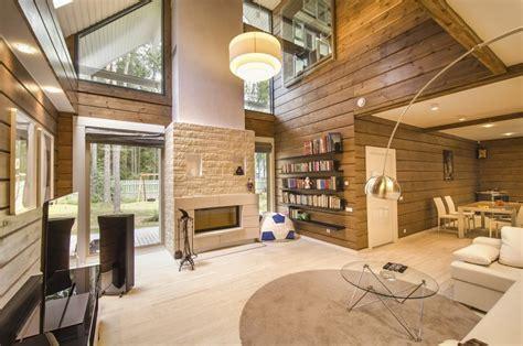 Chalet Home Plans by Photo Int 233 Rieur Luxueux Et Moderne De La Maison
